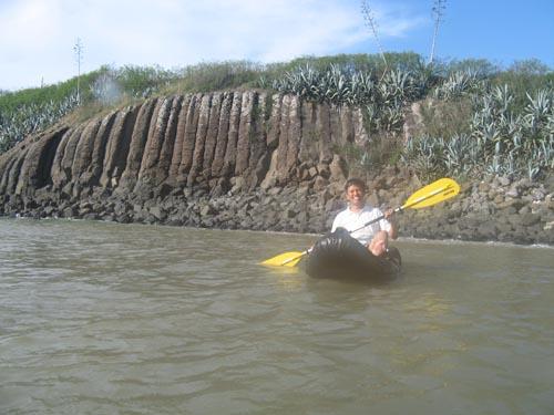 澎湖特產-柱狀玄武岩