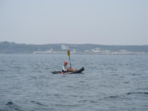 我在獨木舟上