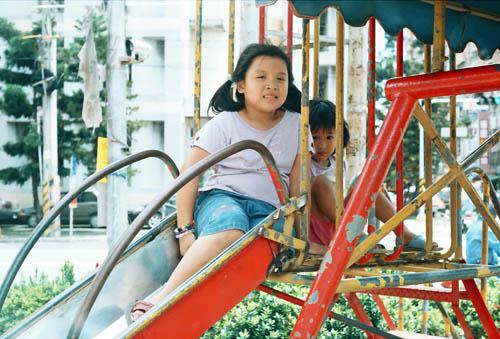 公園的小妹妹