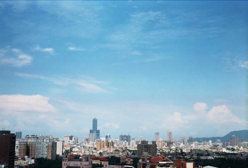 高雄的藍天